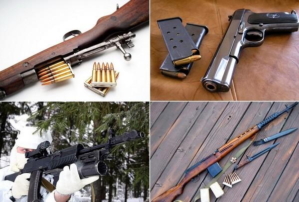 Известная продукция Тульского оружейного завода