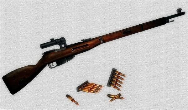 Трехлинейная винтовка Мосина. Источник фото: csru.ru