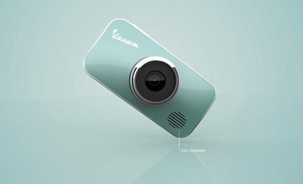 Концепт камеры Vespa