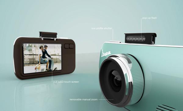 Устройство камеры Vespa