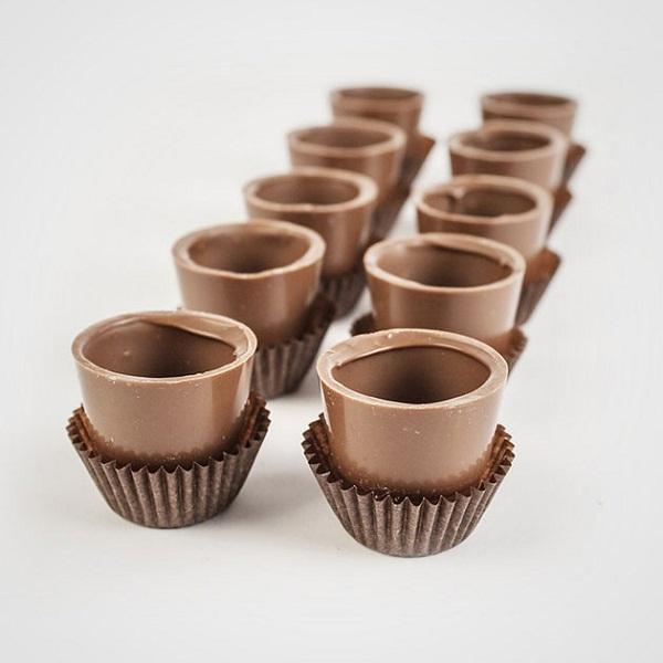 Шоколадные рюмки
