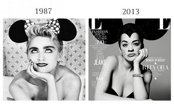 Плагиат из модных журналов