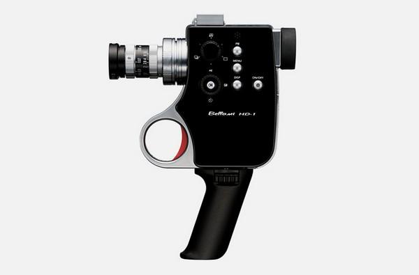 Bellami HD-1 Digital Super 8 – видеокамера в стиле ретро. Источник фото: designboom.com