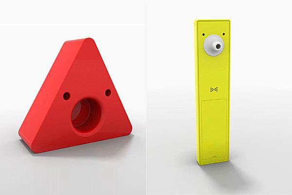 Sammy Screamer и Tony Tempa - сигнализирующее устройство и ушной градусник.