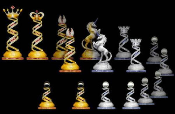 Комплект шахмат от Jewel Royale