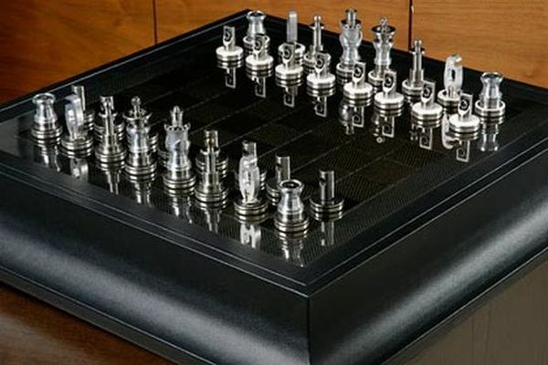 Коллекционный комплект шахмат Renault F1