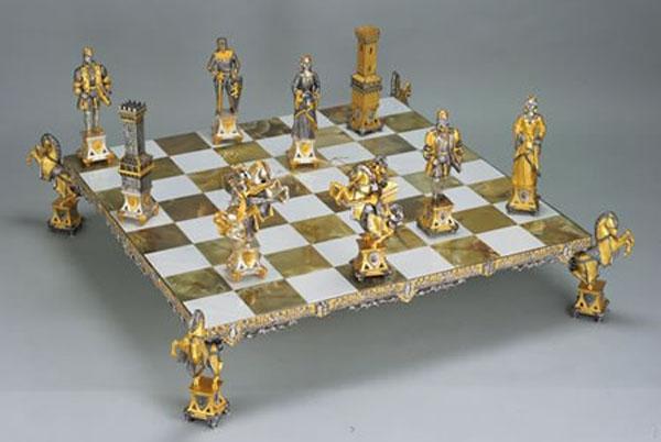 Шахматный комплект Каролинги XIV