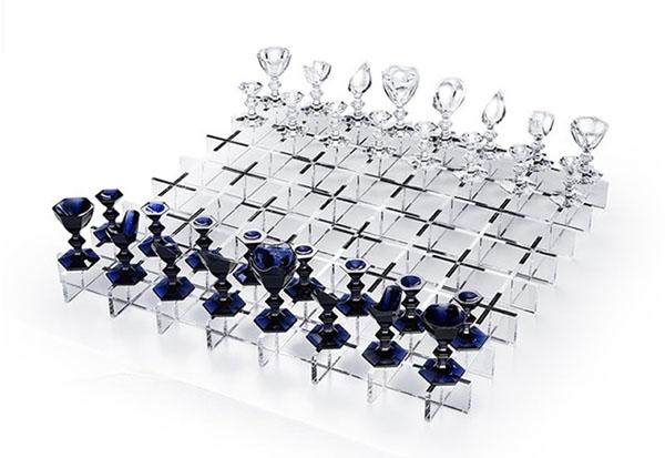 Хрустальный комплект шахмат Baccarat