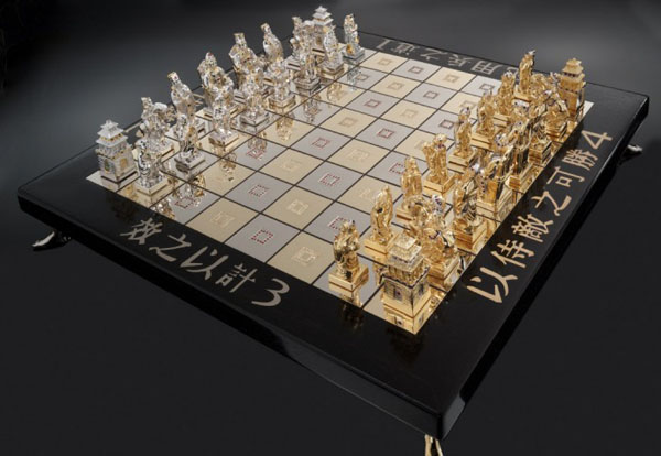 Комплект шахмат «Искусство войны»