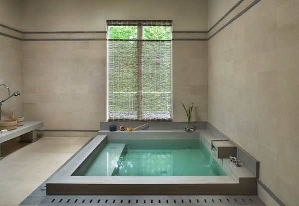 Зонированная ванная комната