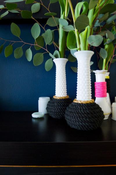 Новые вазы своими руками
