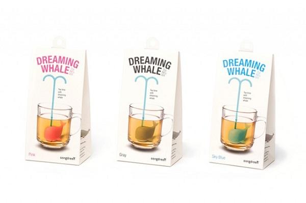Заварник для чая в форме кита от компании Gongdreen