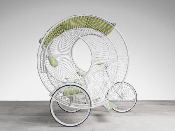 Рикша от дизайнера Kenneth Cobonpue.