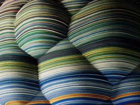 Текстильный стул от Richard Hutten.