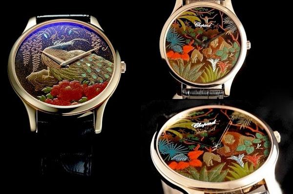 Часы «Peacock» от Chopard