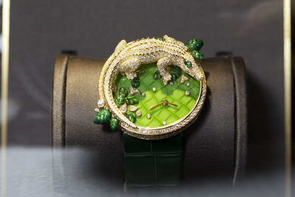 Часы Crocodile, Les Indomptables, Cartier