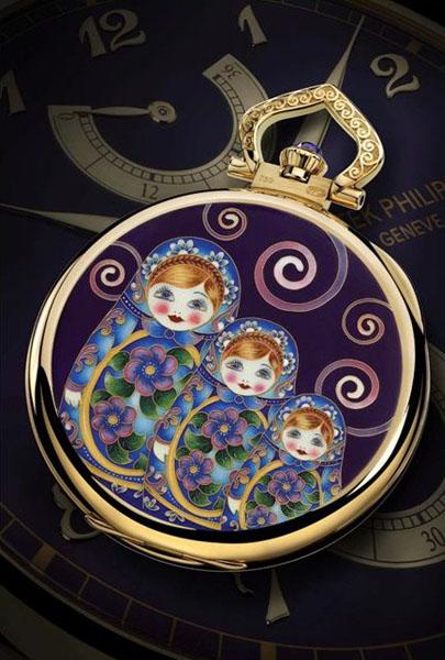 Часы «Матрёшка»  от Patek Philippe
