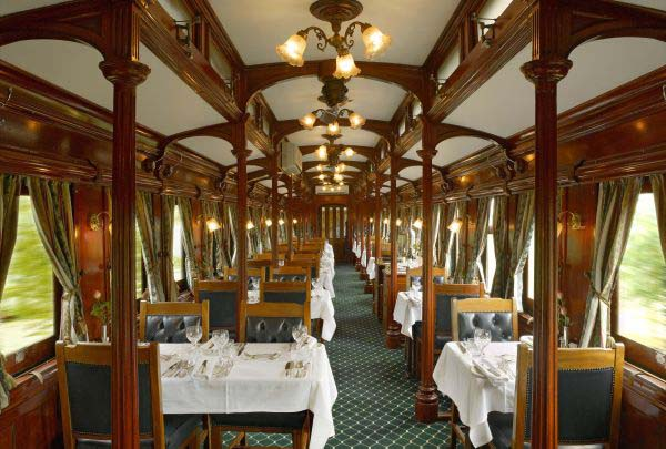 Поезд Pride of Africa: ресторан