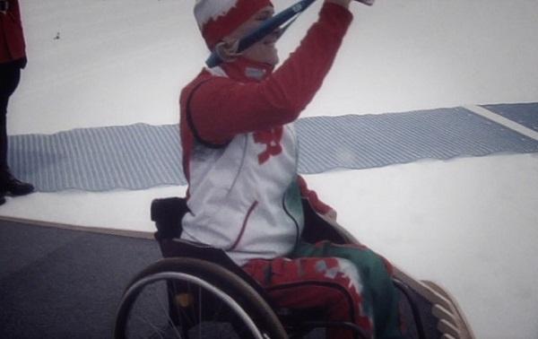 Наталья Водянова в ролике, посвященном открытию паралимпиады
