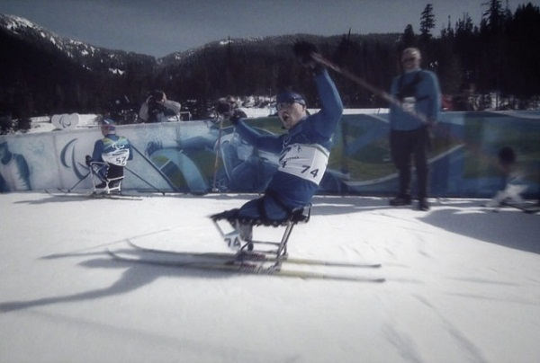 Наталья Водянова в ролике, посвященном открытию паралимпийских игр