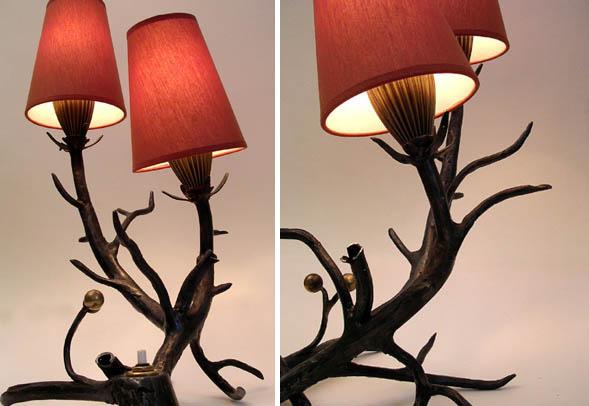 Лампа Оленьи рога от Frank Buchwald
