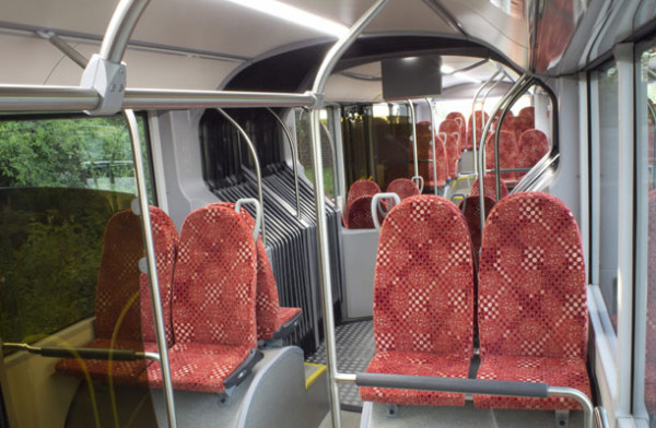 Троллейбус VISEON LT-20: салон