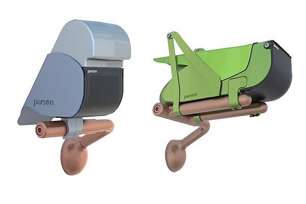 Алюминиевые животные, маскирующие камеры видеонаблюдения.
