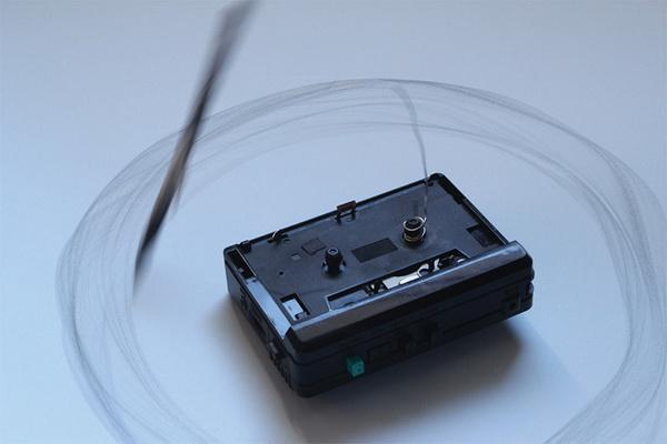 Рисунок, созданный магнитофоном