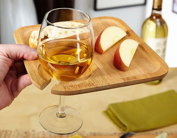 Bamboo Party Plates - тарелки для фуршетов, званых и романтических вечеров.