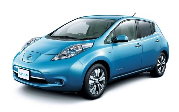 Электромобиль Nissan Leaf. Источник фото: autonews.ws