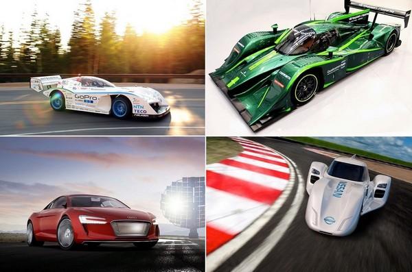 Лучшие гоночные и спортивные электромобили