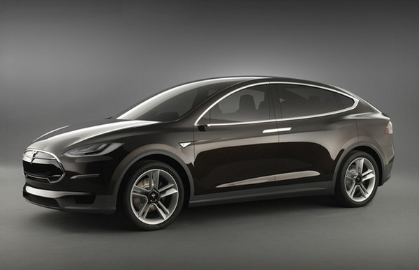 Tesla Model X – спортивный электромобиль с крыльями. Источник фото: teslamotors.com