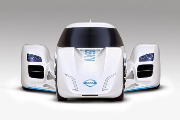 Гоночный электромобиль Nissan ZEOD RC. Источник фото: mashable.com