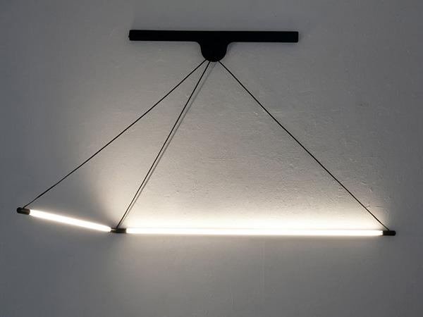 Тонкий светильник от Geoffroy Gillant.