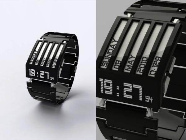 Концепт наручных часов Horodron HD-01