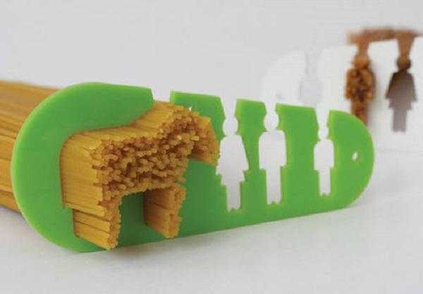 Оригинальный дозатор для яичницы