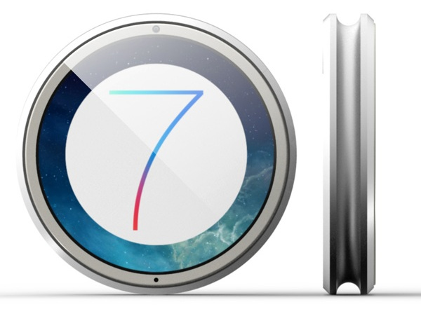 Концепт смарт-часов iWatch7