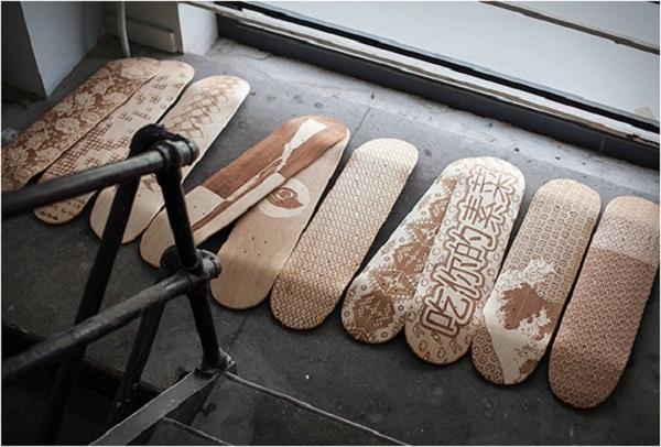 Magnetic Kitchen: расписные скейтборды