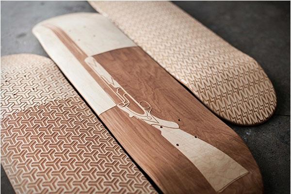 Расписные скейтборды от компании Magnetic Kitchen
