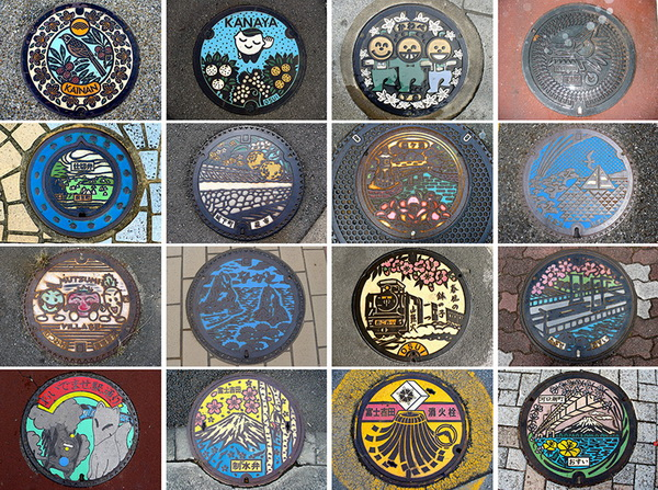 Разновидности канализационных люков Японии