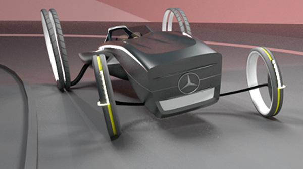 Концепт родстера Mercedes