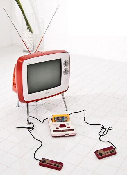 LG Classic TV – плазменный телевизор в стиле шестидесятых. Источник фото: theawesomer.com
