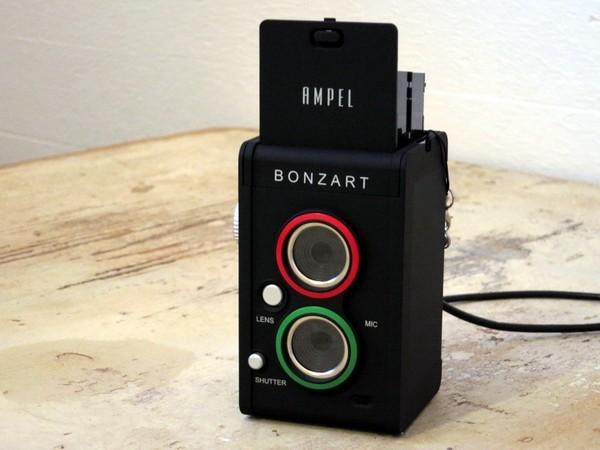 Bonzart Ampel – двухзеркальный фотоаппарат в ретро-стиле. Источник фото: dc.watch.impress.co.jp
