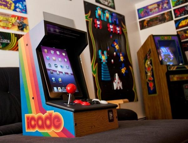 iCade – игровой автомат на основе iPad. Источник фото: fadorforever.blogspot.com