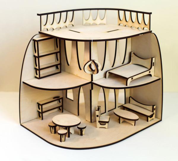 Кукольный домик от дизайнера Krista Peel