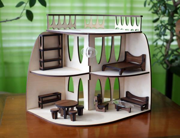 Кукольный домик от Krista Peel