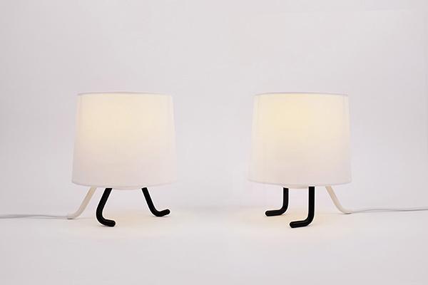 Креативные настольные лампы от студии D-rising.