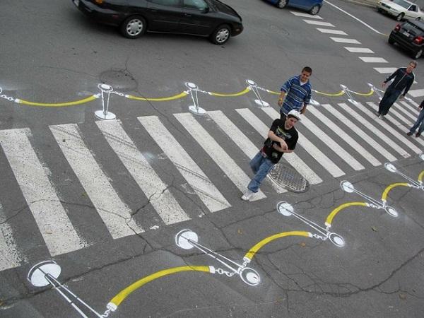 Творчество Roadsworth