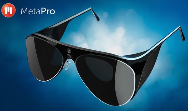 Meta Pro – интерактивные очки премиум-класса. Источник фото: kurzweilai.net