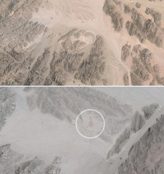 Оригинальный заброшенный кинотеатр в египетской пустыне